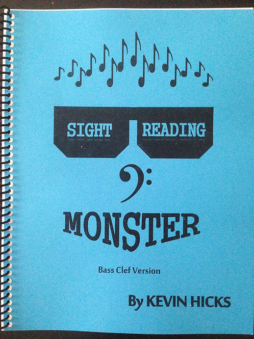 Sight Reading Monster - Bass Clef Version