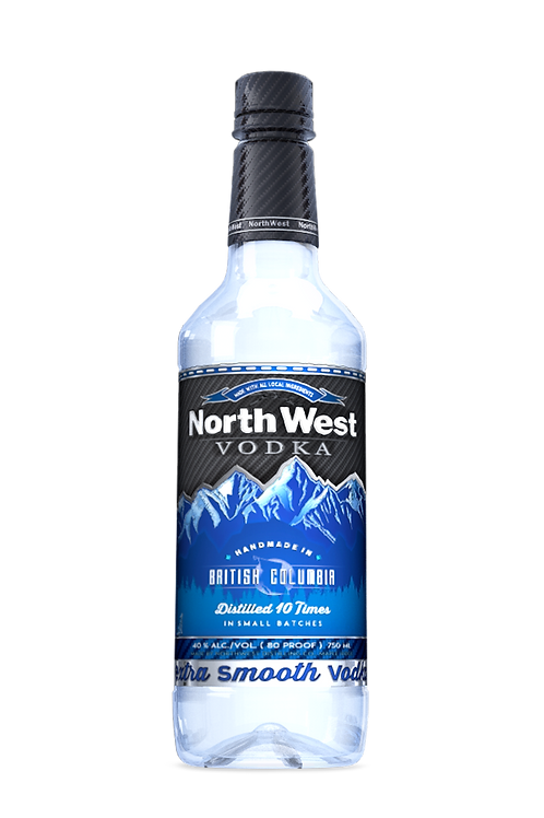 Northwest Extra Smooth Vodka 750mL PET