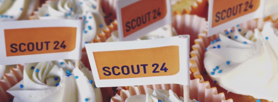 SCOUT24 Cupcakes by WOLKES CUPCAKES