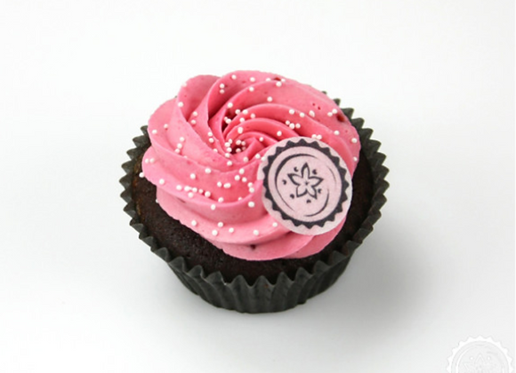 CHOC RASPBERRY CUPCAKE BOX