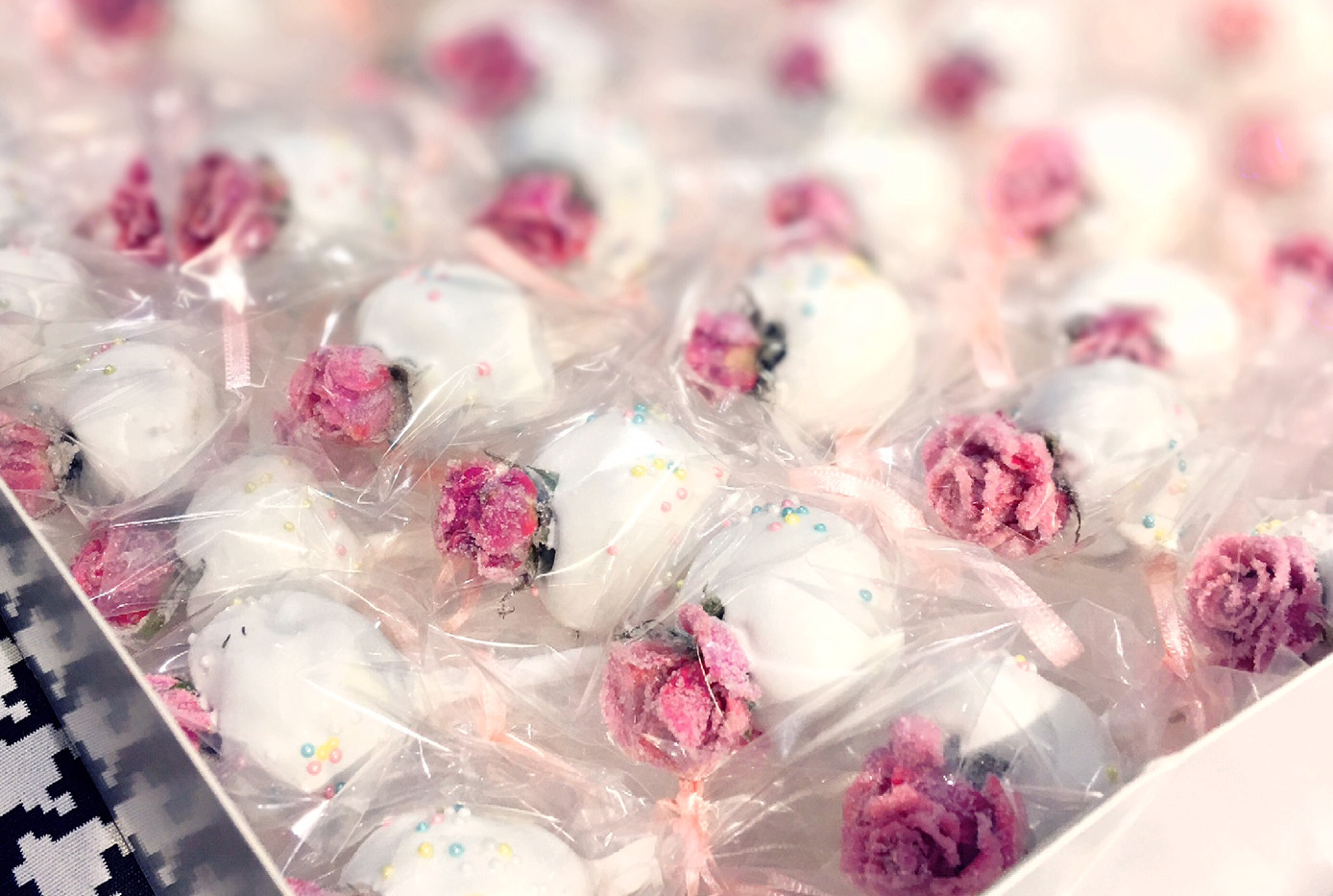 Cakepops mit Rosen by WOLKES CUPCAKES