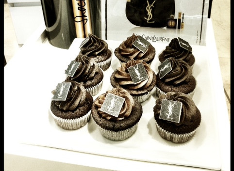 YSL Cupcakes by WOLKES CUPCAKES