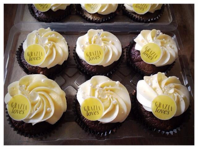 Grazia Cupcakes by WOLKES CUPCAKES