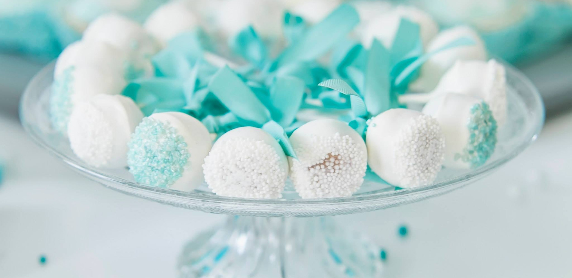 Tiffany Blue Cakepops - Babyshower - WOLKES CUPCAKES