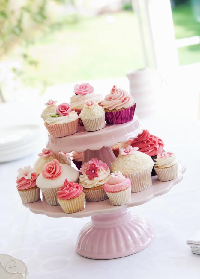 Cupcakes Hochzeit Wedding Pink Pastell