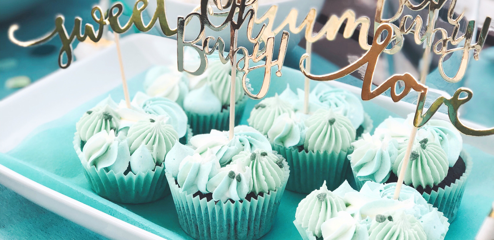 Babyshower Cupcakes Boy - WOLKES CUPCAKES