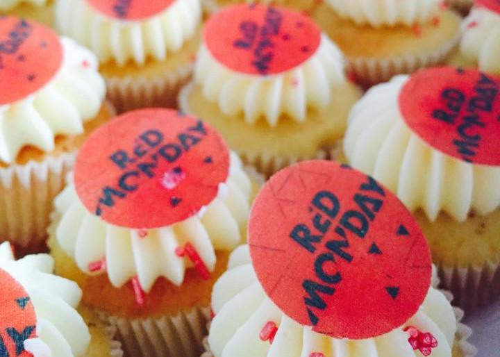 Redbull Cupcakes by WOLKES CUPCAKES