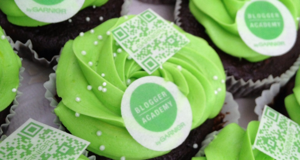 L'Oreal Blogger Academy Cupcakes by WOLKES CUPCAKES