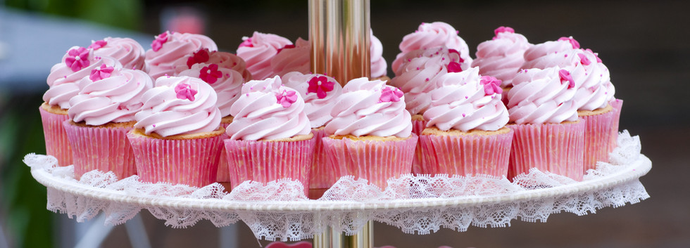 Pink Wedding Cupcakes WOLKES CUPCAKES