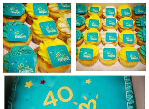 Pampers Cake & Cupcakes by WOLKES CUPCAKES