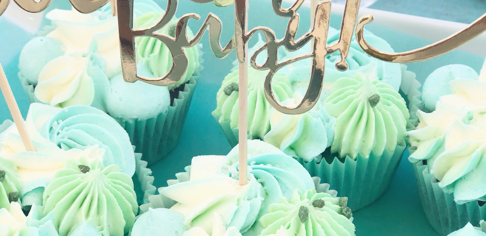 Babyshower Cupcakes by WOLKES CUPCAKES