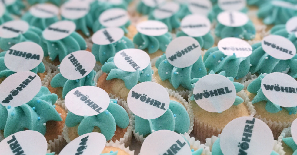 WÖHRL Mini Cupcakes by WOLKES CUPCAKES