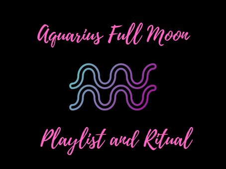 A ritual for the Full Moon in Aquarius (August)