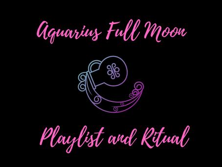A ritual for the Full Moon in Aquarius