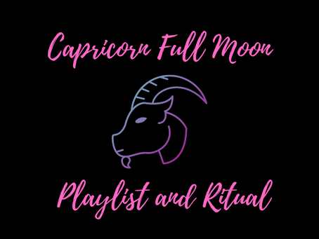 A ritual for the Full Moon in Capricorn