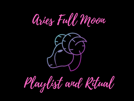 A ritual for the Full Moon in Aries