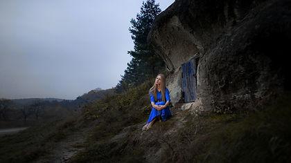 Mujer en las montañas