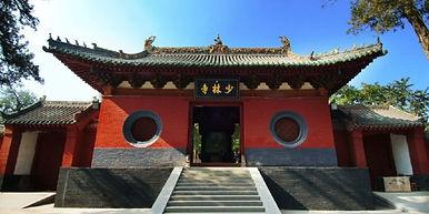 Training at Shaolin Temple China