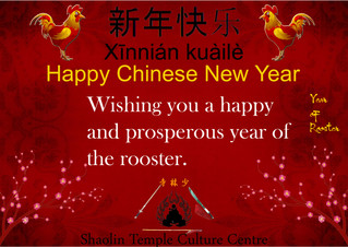 Happy Chinese New Year - 新年快乐 !