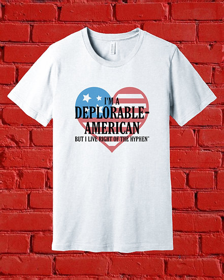 Deplorable-American Heart Flag