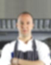 Chef dans la cuisine