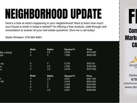 Your Neighborhood Update