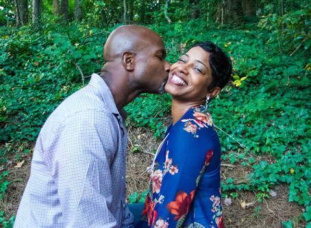 Sidney and Crystal Rock their Engagement Session!
