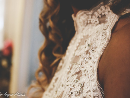 Beautiful Wedding Gown Details