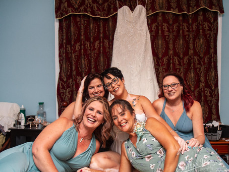 Michelle and Aaron's Intimate Park Wedding