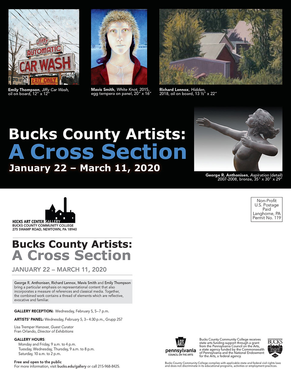 BucksCountyArtistsExhibitionExhibitionPo
