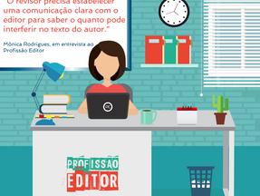 Revisão de textos – Entrevista com Mônica Rodrigues