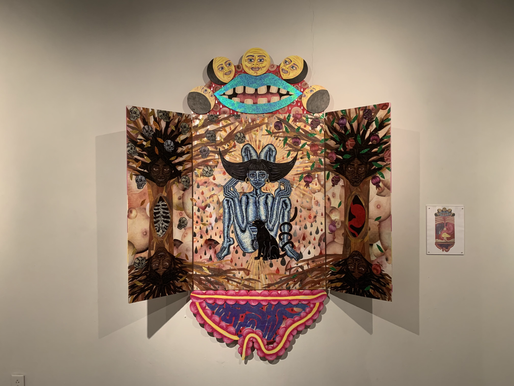 Myths and Mixed Media in Gallery 210's Newest Exhibition