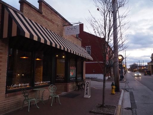 The Coziest Cafe in St. Charles---La Belle Vie