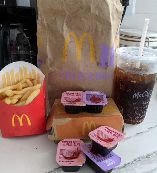 The Absurdity of Celebrity McDonald's Meals.