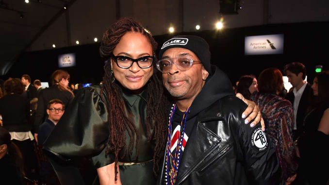 A Pair of Revolutionaries: Spike Lee and Ava Duvernay.