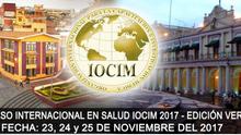 XXXVII Congreso Internacional en Salud IOCIM 2017