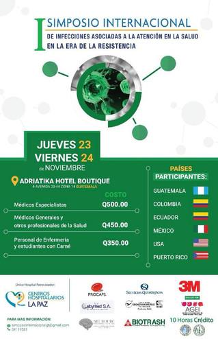 NeuroURC participando en el Primer Simposio Internacional de Infecciones Asociadas a la Atención en