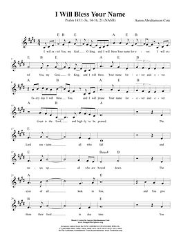 Songs of Scripture - Psalm 145 1-3a, 14-
