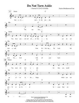 Songs of Scripture - 1 Samuel 12 20-25 (
