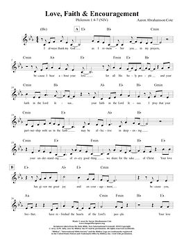 Songs of Scripture - Philemon 1 4-7 (NIV
