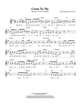 Songs of Scripture - Matthew 11 28-30.jp