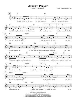 Songs of Scripture - Jonah 2 2-9 (NASB).