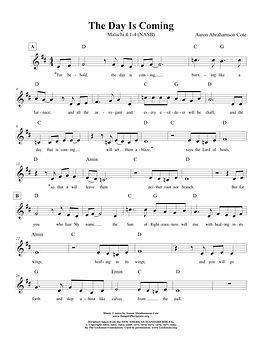 Songs of Scripture - Malachi 4 1-4 (NASB