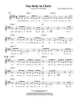 Songs of Scripture - Romans 12 3-8 (NASB