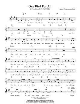 Songs of Scripture - 2 Corinthians 5 14-