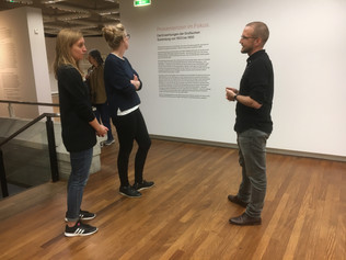 """Private tour through the exhibition """"Provenienzen im Fokus"""" at Kunsthaus Zürich"""