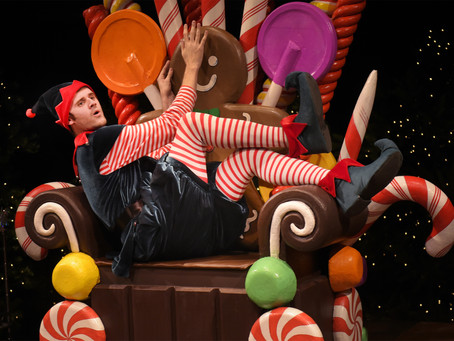 A Sardonic Christmas Performance