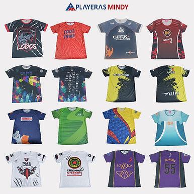 Playeras Mindy deportivas Dry-FIt personalizadas
