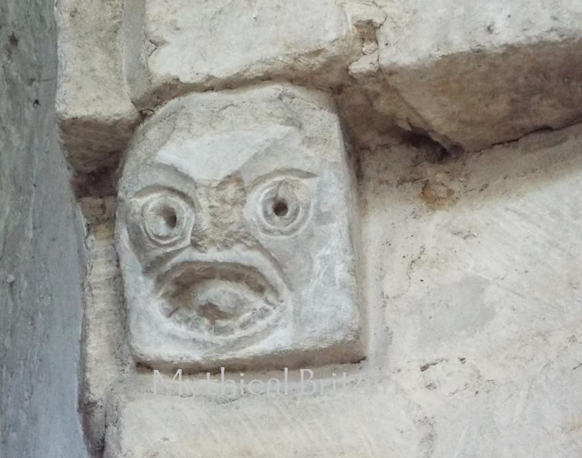Ancient Corbel at Barnack