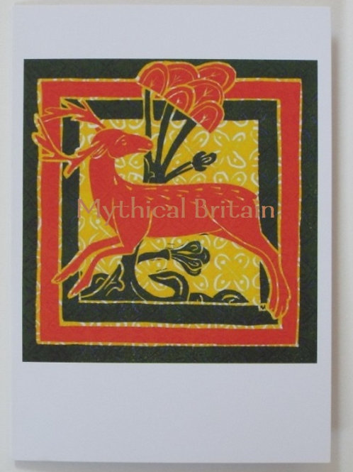 Christmas Cards: Deer Bestiary - Set of 12
